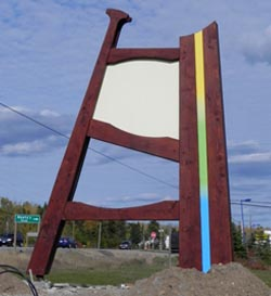 Nipigon Sign - Laying the Groundwork
