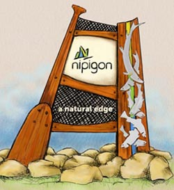 Nipigon Sign - Artist\'s Conception