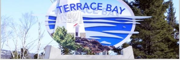 Terrace Bay Welcome Sign